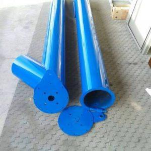 Външна тръба за шнек от въглеродна стомана