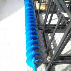 Шнекова спирала от въглеродна стомана